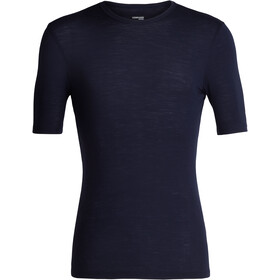 Icebreaker M's 175 Everyday SS Crewe Shirt Midnight Navy